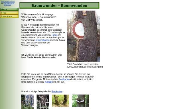 Vorschau von www.baumwunder.de, Willenbrock, Olaf