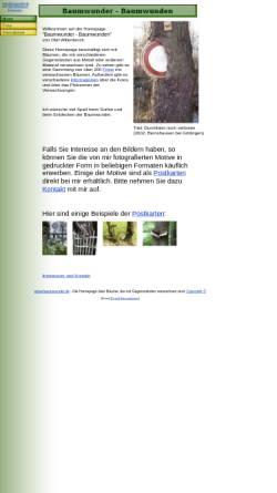 Vorschau der mobilen Webseite www.baumwunder.de, Willenbrock, Olaf