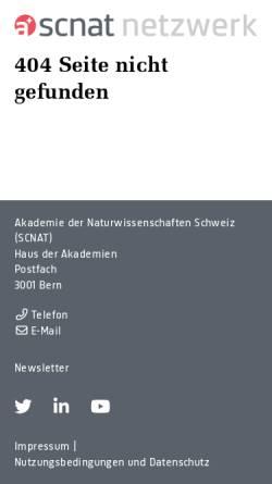 Vorschau der mobilen Webseite ch-quat.ch, CH-QUAT