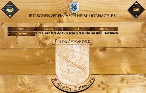 Vorschau von www.bv-aschheim-dornach.de, Burschenverein Aschheim-Dornach e.V.
