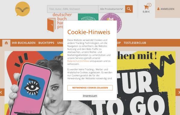 Vorschau von www.vaihingerbuchladen.de, Vaihinger Buchladen