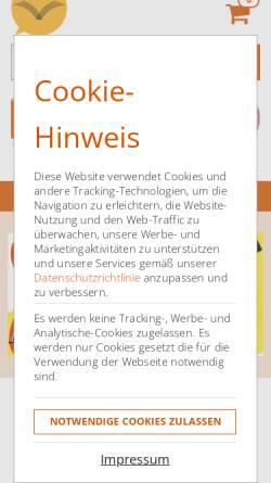 Vorschau der mobilen Webseite www.vaihingerbuchladen.de, Vaihinger Buchladen