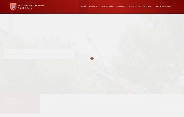Vorschau von www.feuerwehr-aschheim.de, Freiwillige Feuerwehr Aschheim e.V.