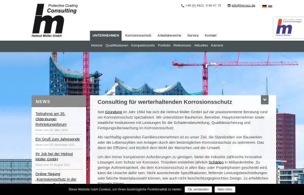 Vorschau von www.hm-pcc.de, Helmut Müller