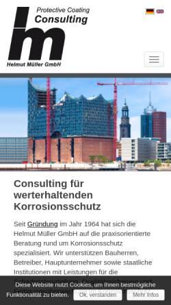 Vorschau der mobilen Webseite www.hm-pcc.de, Helmut Müller