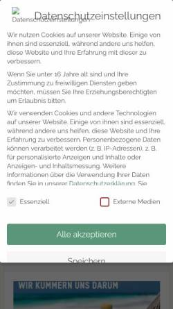 Vorschau der mobilen Webseite www.shopanbieter.de, Shopanbieter.de