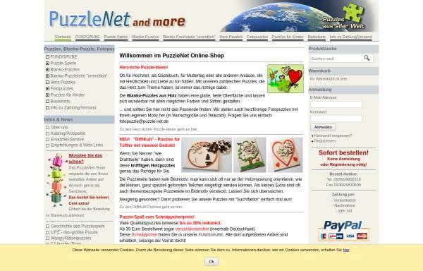 Vorschau von www.puzzle-net.de, PuzzleNet, Klaus Skupch