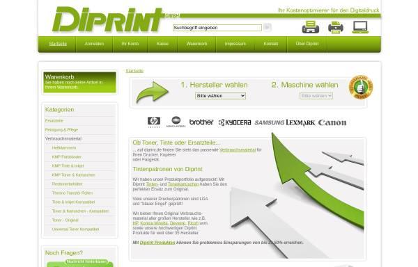 Vorschau von www.diprint.de, Diprint GmbH