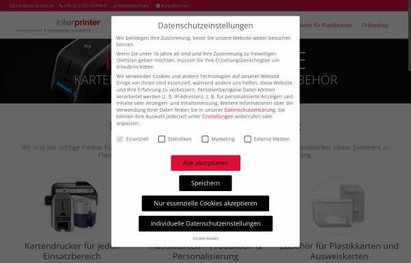 Vorschau von www.interprinter.de, Interprinter