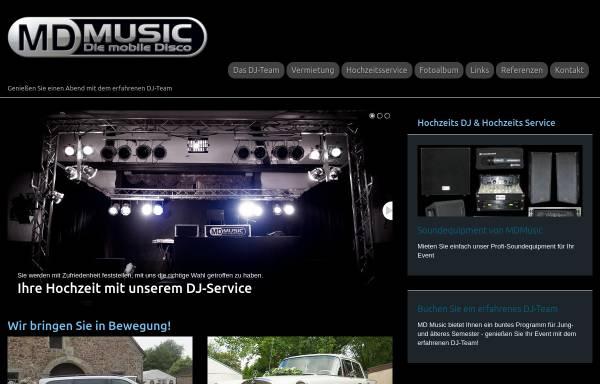 Vorschau von www.mdmusic.de, MD Music