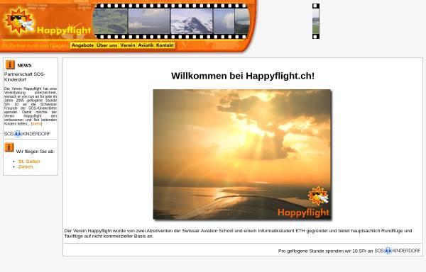 Vorschau von www.happyflight.ch, Verein Happyflight