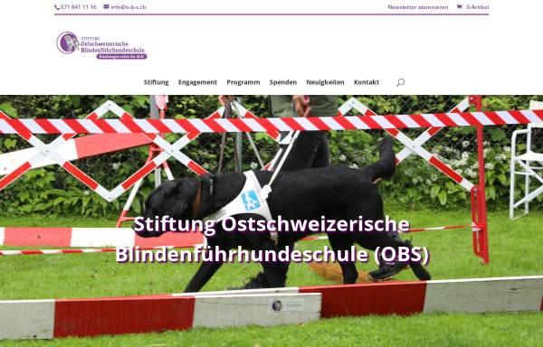 Vorschau von o-b-s.ch, Stiftung Ostschweizerischer Blindenführhundeschule