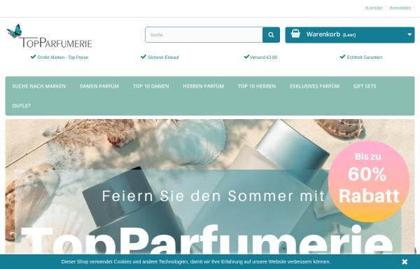 Vorschau von www.topparfumerie.de, Topparfumerie Eenmanszaak, Marianne Havenstein