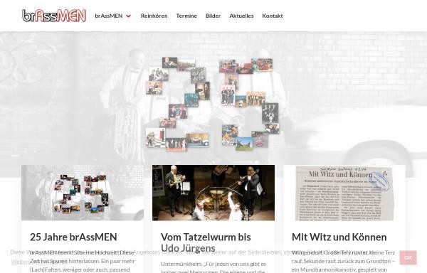 Vorschau von www.brassmen.de, Brassmen