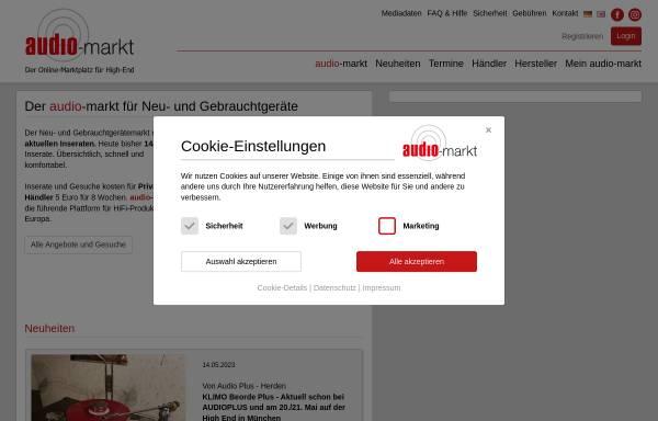 Vorschau von www.audio-markt.de, Audio-Markt