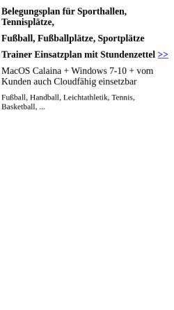 Vorschau der mobilen Webseite kribus.de, Haxter-Lauffreunde Paderborn