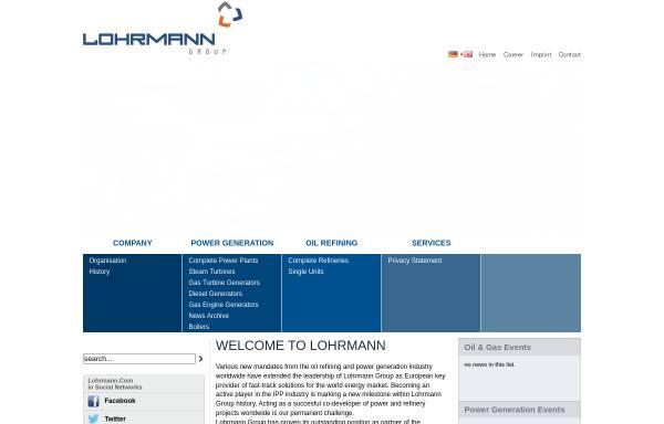 Vorschau von www.lohrmann.com, Lohrmann GmbH