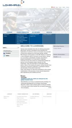 Vorschau der mobilen Webseite www.lohrmann.com, Lohrmann GmbH