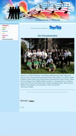 Vorschau der mobilen Webseite blas-mit.npage.de, Posaunenchor des CVJM Styrum
