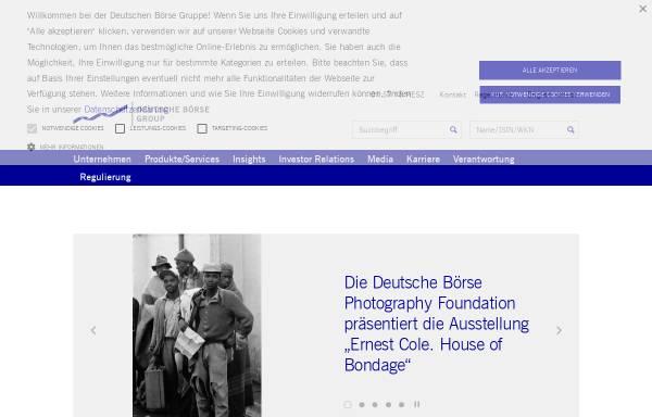 Vorschau von deutsche-boerse.com, Deutsche Börse AG