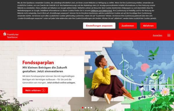 Vorschau von www.frankfurter-sparkasse.de, Frankfurter Sparkasse