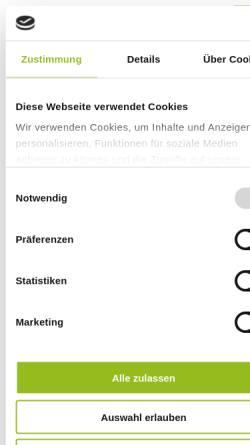 Vorschau der mobilen Webseite www.bad-aibling.de, Stadt Bad Aibling