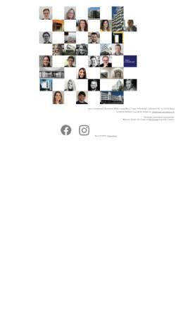 Vorschau der mobilen Webseite www.mann-schneberger.de, Architekturbüro Mann + Schneberger GbR