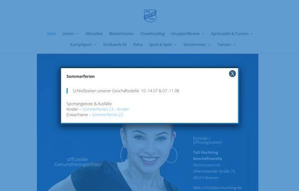 Vorschau von tushuchting.de, Team-Schwimmen des TuS Huchting