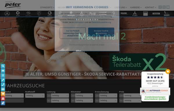 Vorschau von www.autohauspeter.de, Beresa Autozentrum Anhalt GmbH