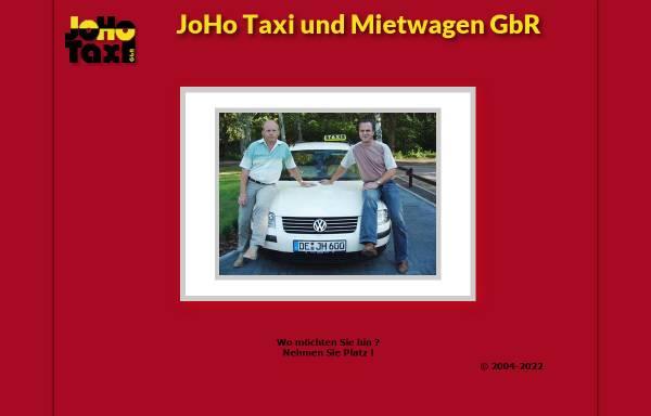 Vorschau von www.joho-taxi-dessau.de, JoHo Taxi und Mietwagen GbR