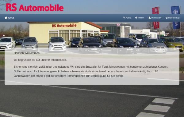 Vorschau von www.rs-autohandel.de, RS Automobile, Inh. Rene Schlusche