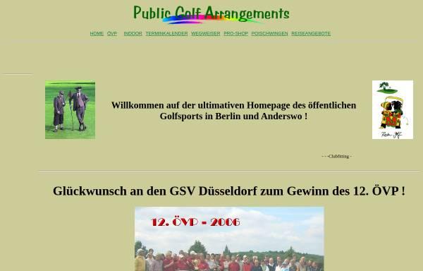 Vorschau von www.go-4-golf.de, Public Golf Arrangements