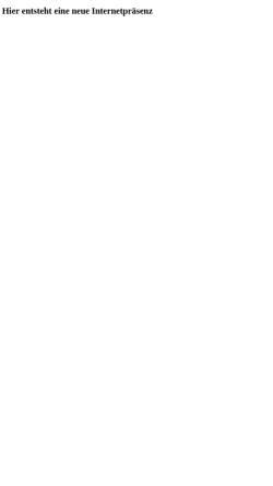 Vorschau der mobilen Webseite www.praxis-ck.de, Christina Klein