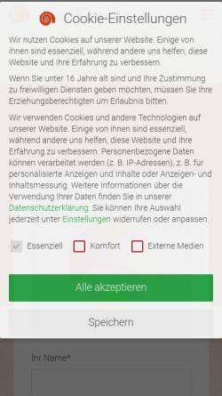 Vorschau der mobilen Webseite cranio-kessler.de, Eva Kessler