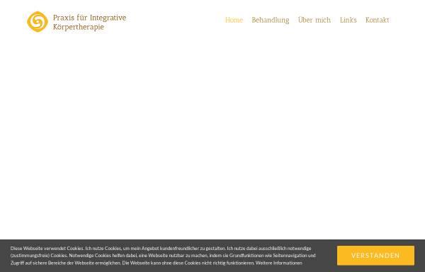 Vorschau von www.cranio-rebalancing.de, Praxis für integrative Körpertherapie