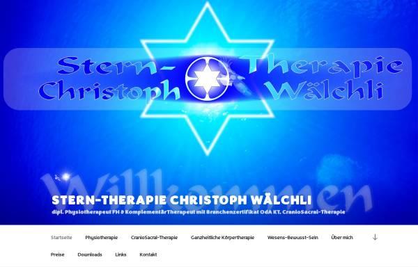 Vorschau von sterntherapie.ch, Stern-Therapie Christoph Wälchli