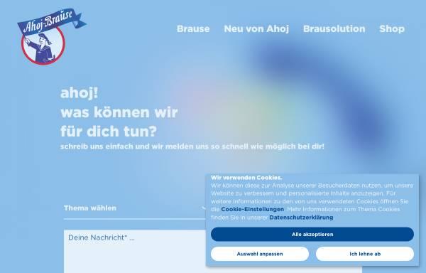 Vorschau von www.ahoj-brause.de, Frigeo Vertriebsgesellschaft mbH