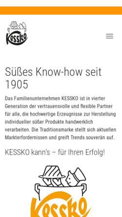 Vorschau der mobilen Webseite www.kessko.de, Kessko & Comp. GmbH & Co KG
