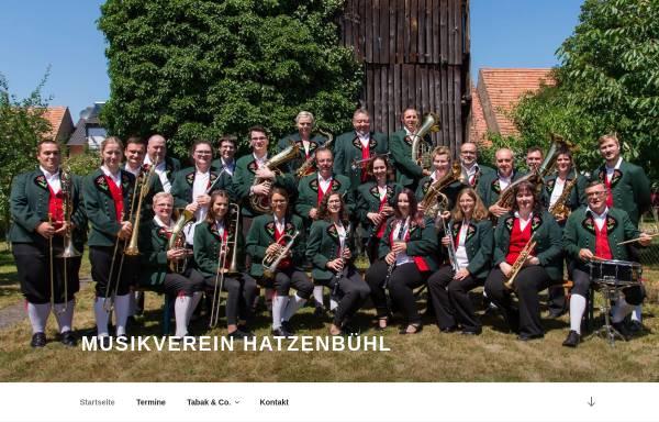 Vorschau von www.mv-hatzenbuehl.de, Musikverein Hatzenbühl e.V.