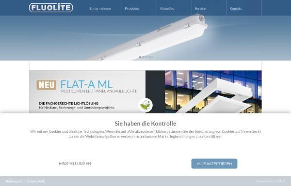 Vorschau von www.fluolite.de, Reiss International GmbH