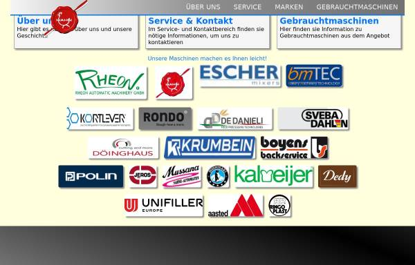 Vorschau von www.hahn-backen.at, Ing. Walter Hahn Bäckerei- & Konditoreitechnik GmbH & Co KG