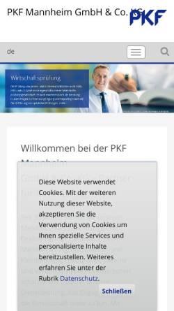 Vorschau der mobilen Webseite www.steuerberater-mannheim-heidelberg-ludwigshafen.de, Dr. Leifert & Molz