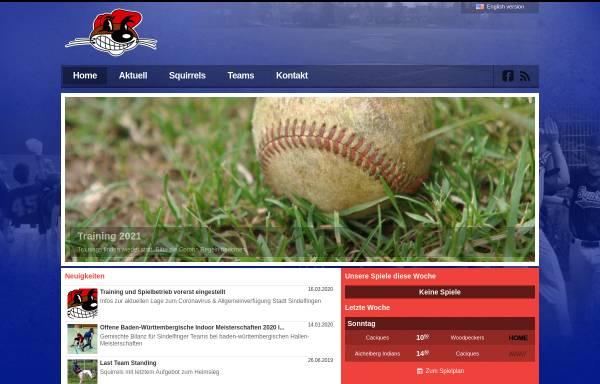 Vorschau von www.squirrels.de, Sindelfingen Squirrels