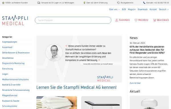 Vorschau von www.heinzstampfli.ch, Heinz Stampfli AG