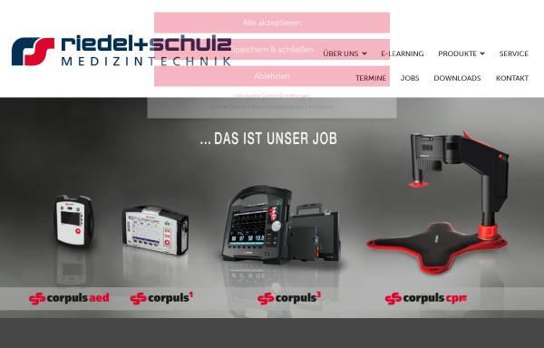 Vorschau von www.riedel-schulz.de, Jan Riedel & Jörn Schulz