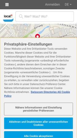 Vorschau der mobilen Webseite www.reavita.ch, Reavita AG