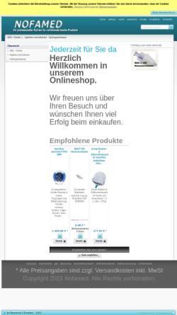 Vorschau der mobilen Webseite www.nofamed.de, Rudolf Kern