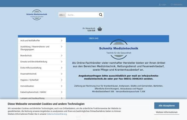 Vorschau von www.schmitz-medizintechnik.de, Schmitz Medizintechnik, Inh. Tina Schmitz