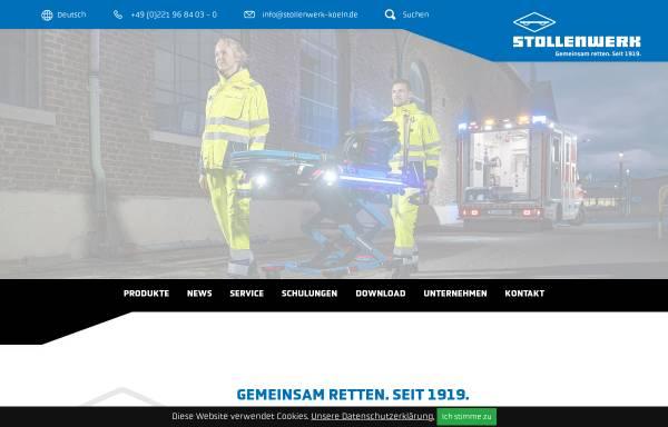 Vorschau von www.stollenwerk-koeln.de, Stollenwerk u. Cie. GmbH