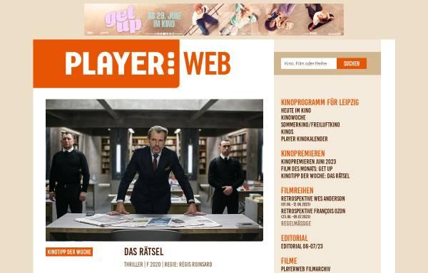 Vorschau von www.playerweb.de, Playerweb